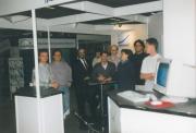 Das kleine Innomed-Team auf einer Ausstellung