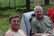 Zusammen mit meinem guten Freund Jochen, dem ich viel verdanke, der an mich glaubte und der Hauptinvestor der Innomed war